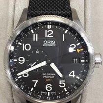 Oris Big Crown ProPilot GMT Acier 45mm Noir Arabes