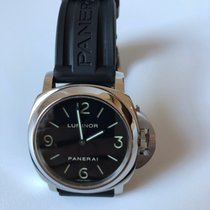 Panerai pre-owned Manual winding 44mm Black Sapphire Glass 30 ATM