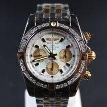 Breitling Chronomat 44 IB011053/A697 État neuf Or/Acier 44mm Remontage automatique