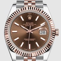 Rolex Datejust II Gold/Steel 41mm Brown No numerals United States of America, New Jersey, Totowa