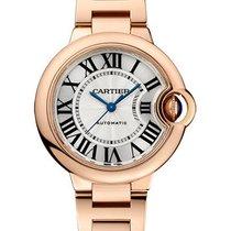 Cartier Ballon Bleu 33mm новые Автоподзавод Часы с оригинальными документами и коробкой W6920096