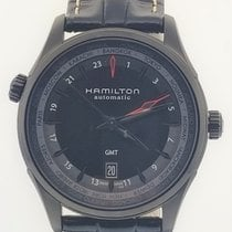 Hamilton Jazzmaster GMT Auto new Automatic Watch with original box and original papers H32685731