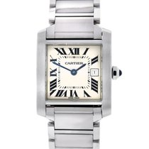 Cartier Tank Française Steel 25mm White Roman numerals United States of America, New Jersey, Woodbridge