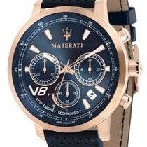 Maserati Acero y oro 44mm Cuarzo R8871134003 nuevo