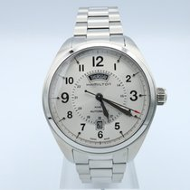 Hamilton Khaki Field Day Date Steel 51mm Silver United States of America, Florida, Sarasota