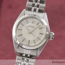 Rolex Oyster Perpetual 26 Gold/Stahl 25mm Silber