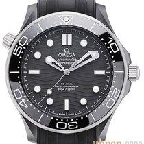 Omega Seamaster Diver 300 M Keramiek 43.5mm Zwart Geen cijfers