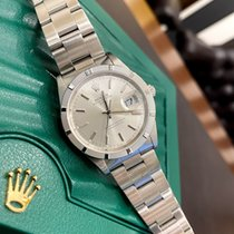 Rolex Oyster Perpetual Date 15210 Sehr gut Stahl 34mm Automatik