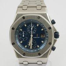 Audemars Piguet Royal Oak Offshore Chronograph occasion 42mm Bleu Chronographe Date Acier