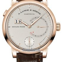 A. Lange & Söhne Lange 31 Rose gold 45.9mm Silver United States of America, New York, Airmont