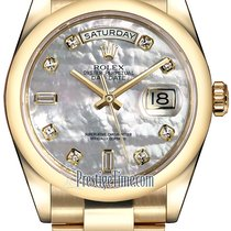 Rolex Yellow gold Automatic Mother of pearl 36mm new Day-Date 36