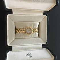 Ebel Beluga 24mm Quarz 18k Gold 0,19 c Diamant Zifferblatt...