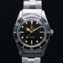 Rolex 5508 Small Crown Gilt Submariner Original Box + Papers...