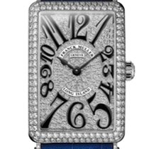Franck Muller Long Island 18k Gold & Diamond Quartz Watch...