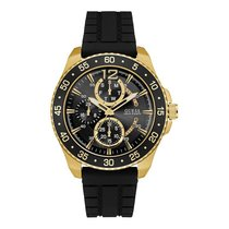 Guess Gents Jet Gold Plated Sports Watch