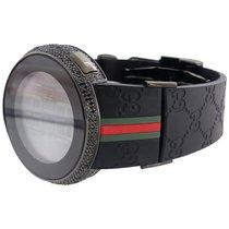 Gucci New Mens Custom Black Full Digital I Gucci YA114207...