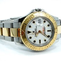 Rolex Yacht-Master Gold S/S Mid Size Date 35mm watch