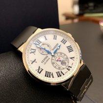 Ulysse Nardin Marine Chronometer 43mm Сталь 43mm Белый Россия, Санкт-Петербург