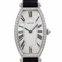 65b9e2285df Cartier Tonneau White gold - all prices for Cartier Tonneau White ...