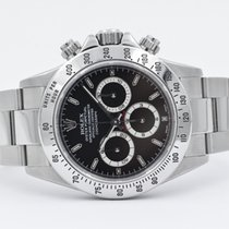 Rolex Daytona Zenith P Serial Black Dial RARE Full Set