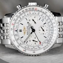 Breitling Chronograph 42mm Automatic 2007 pre-owned Navitimer (Submodel) Black