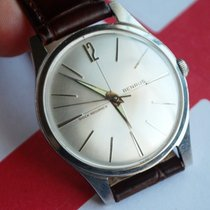 Benrus 34mm Manual winding 1960 pre-owned Silver