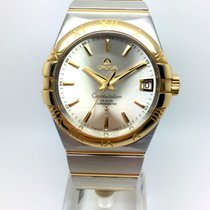 Omega Constellation Men Gold/Steel 38mm Silver No numerals United Kingdom, Leicester