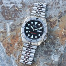Seiko Steel 43mm Automatic SKX007J pre-owned United States of America, New Jersey, Rahway