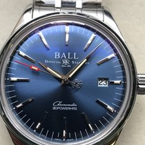 Ball Trainmaster neu 2020 Automatik Uhr mit Original-Box und Original-Papieren NM3280D-S1CJ-BE