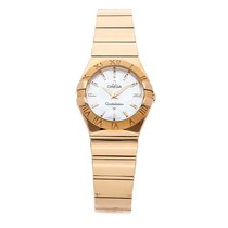 Omega Constellation Quartz Rose gold 27mm Mother of pearl No numerals