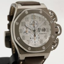 Audemars Piguet Royal Oak Offshore Chronograph Titanium 48mm White Arabic numerals
