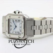 Cartier Santos (submodel) Сталь 24mm Белый Римские