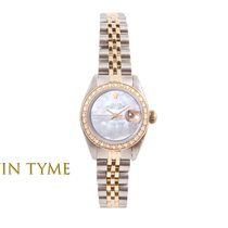 Rolex Lady-Datejust Gold/Steel 26mm Mother of pearl