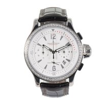 Jaeger-LeCoultre Master Compressor Chronograph Steel 36.5mm White
