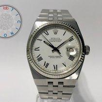 Rolex Datejust Oysterquartz Arany/Acél 36mm Fehér Számjegyek nélkül