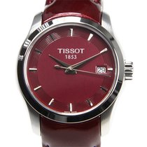 Tissot Couturier Stahl 32mm Rot