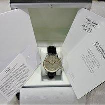 IWC Portuguese Chronograph Aço 40.9mm Árabes