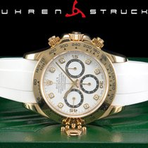 Rolex Yellow gold Automatic White Arabic numerals 40mm pre-owned Daytona