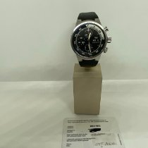 IWC Aquatimer Chronograph Acero 42mm Negro Sin cifras