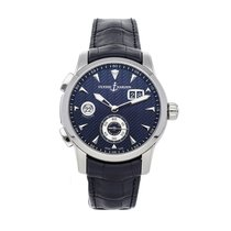 Ulysse Nardin Dual Time Steel 42mm Blue No numerals United States of America, Pennsylvania, Bala Cynwyd