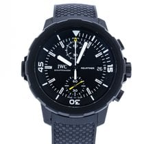 IWC Aquatimer Chronograph Steel 45mm Black
