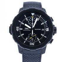 IWC Aquatimer Chronograph pre-owned 45mm Black Date Rubber