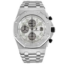 Audemars Piguet 25721ST.OO.1000ST.07.A Steel Royal Oak Offshore Chronograph pre-owned United States of America, Florida, North Miami Beach