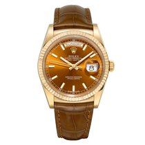 Rolex Day-Date 36 Yellow gold 36mm No numerals