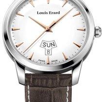 Louis Erard Steel 40mm 15920AA10.BEP101 new