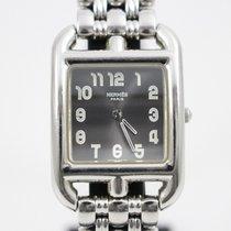 Hermès Cape Cod Steel 23mm Grey
