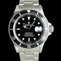 Rolex Submariner Date pre-owned 40mm Black