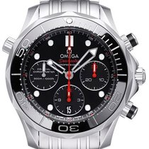 Omega Seamaster Diver 300 M Steel 42mm Black No numerals