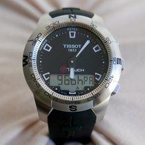 Tissot T-Touch II Zeljezo 42,7mm Crn Bez brojeva
