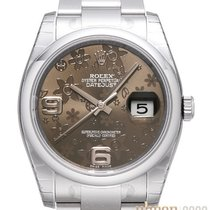 Rolex Oyster Datejust 36 mm 116200 Ziff. Floral-Bronze